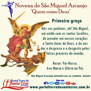 Novena de São Miguel 1