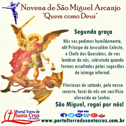 Novena de São Miguel 2