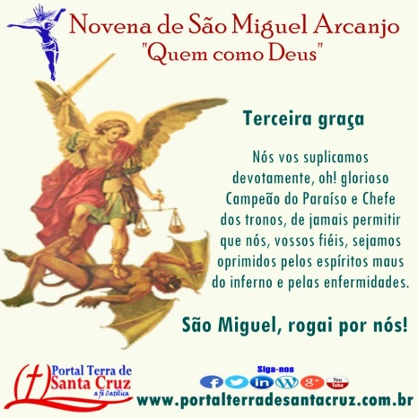 Novena de São Miguel 3