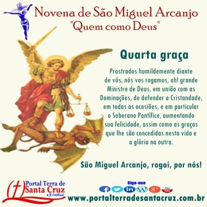 Novena de São Miguel 4