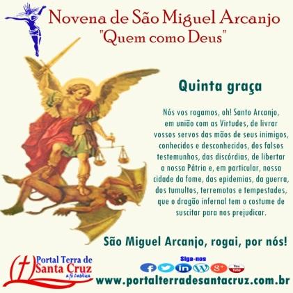 Novena de São Miguel 5