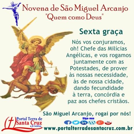 Novena de São Miguel 6
