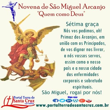 Novena de São Miguel 7