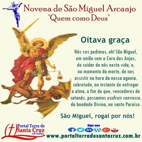 Novena de São Miguel 8