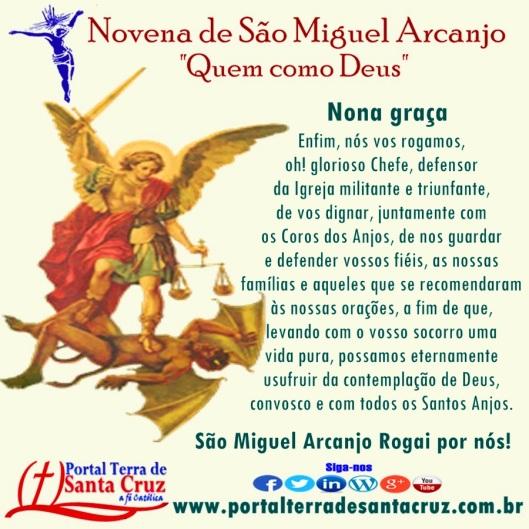 Novena de São Miguel 9