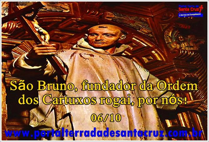 São Bruno, fundador da Ordem dos Cartuxos!