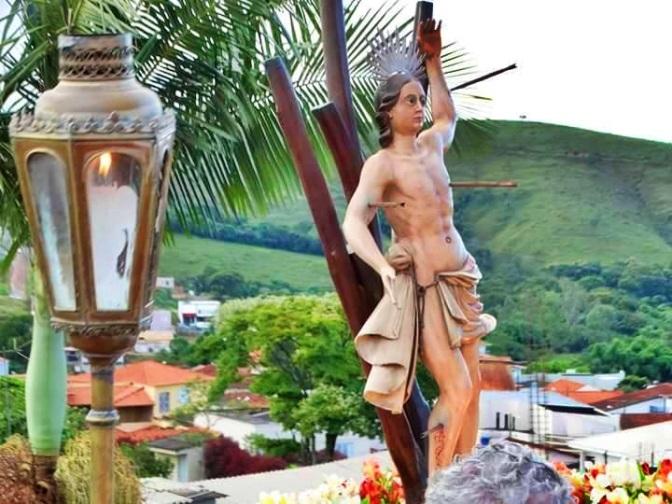 Especial São Sebastião:Solenidade de São Sebastião em Baependi(MG), fiéis lotam o Santuário da Beata Nhá Chica para celebrar o glorioso Mártir.