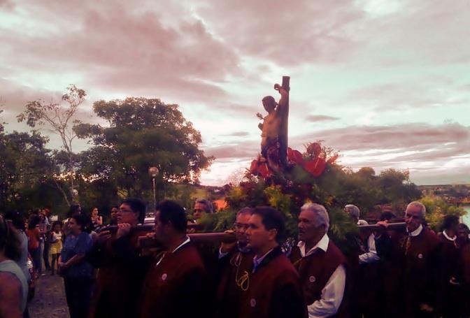 Especial São Sebastião:Paroquianos de Cambuquira(MG) celebraram São Sebastião excelso Padroeiro da Terra das águas minerais.