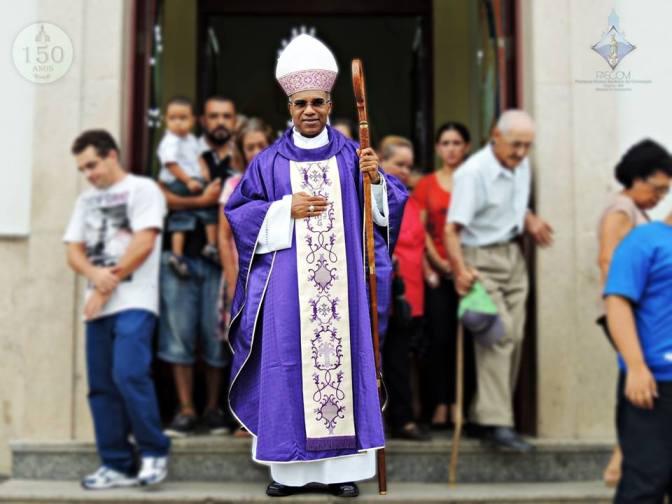 Dom Pedro Cunha Cruz visita pela 1ª vez a Paróquia N.Sª. da Conceição em VIRGÍNIA-MG / Diocese da Campanha
