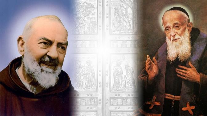 Jubileu da Misericórdia:As relíquias de São Pio e de São Leopoldo em Roma, para investidura dos Missionários da Misericórdia