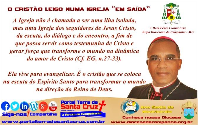 """O CRISTÃO LEIGO NUMA IGREJA """"EM SAÍDA""""/ Por Dom Pedro Cunha Cruz"""