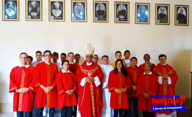 Especial Semana Santa:Dom Pedro celebra abertura da Semana Santa 2016 em Campanha-MG