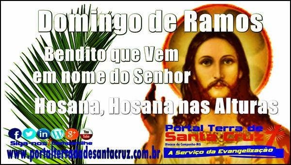 Domingo de Ramos: Bendito que vem em nome do Senhor! Liturgia