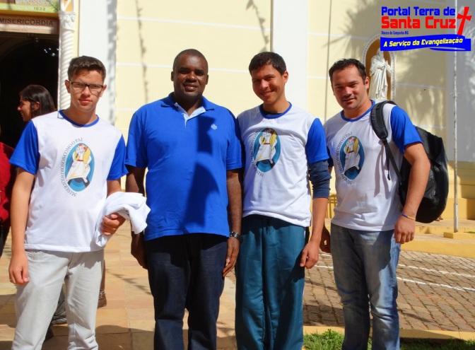 Ano Santo da Misericórdia: Paroquianos de Cambuquira/MG realizaram a peregrinação à Porta Santa da Misericórdia em Campanha/MG