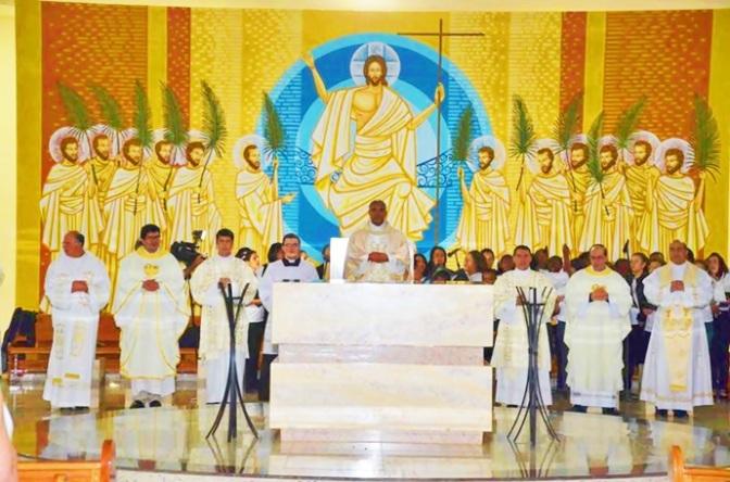 Boa Esperança:Dom Pedro celebra cerimônia de dedicação da Igreja de Santo Expedito