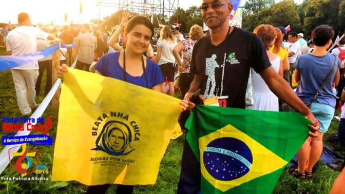 ESPECIAL JMJ: O Brasil se destaca na Jornada Mundial da Juventude em Cracóvia e jovens da Diocese da Campanha divulga a Beata Nhá Chica.
