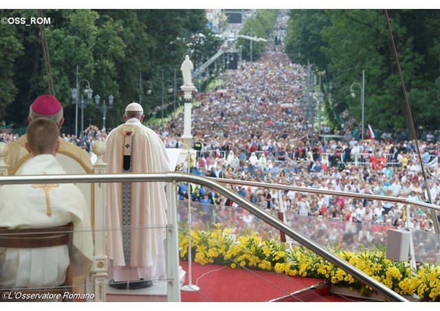ESPECIAL JMJ: Papa celebra a Santa Missa por ocasião do 1050º aniversário do batismo da Polônia.