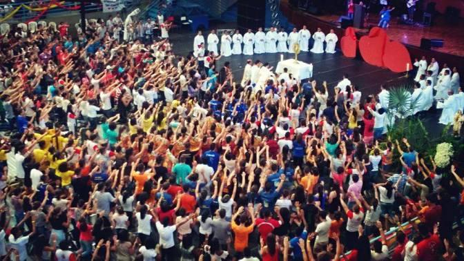 DNJ 2016: Cerca de 4mil Jovens celebram a Misericórdia de Deus em Três Corações-MG/Diocese da Campanha