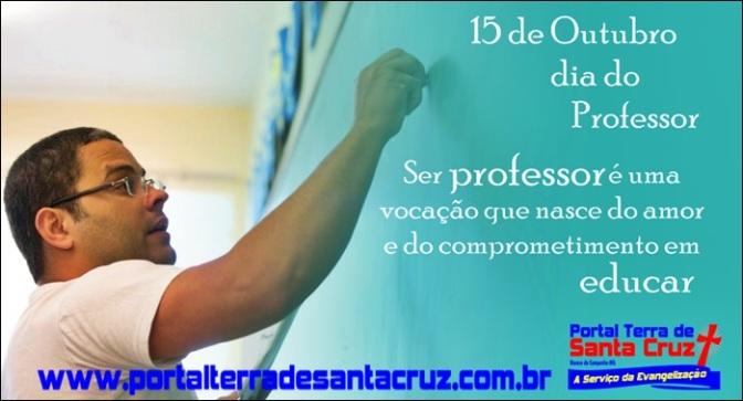 Ser professor é um dom e uma missão