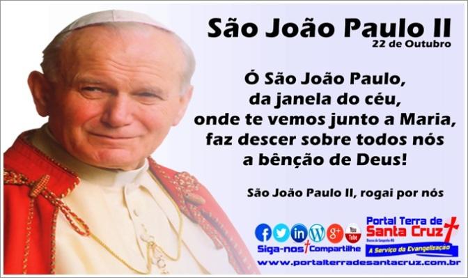 São João Paulo II: História e Missão de um grande semeador da Paz