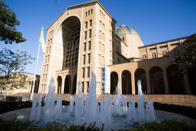 Papa concede ao Santuário Nacional título de Igreja-Catedral