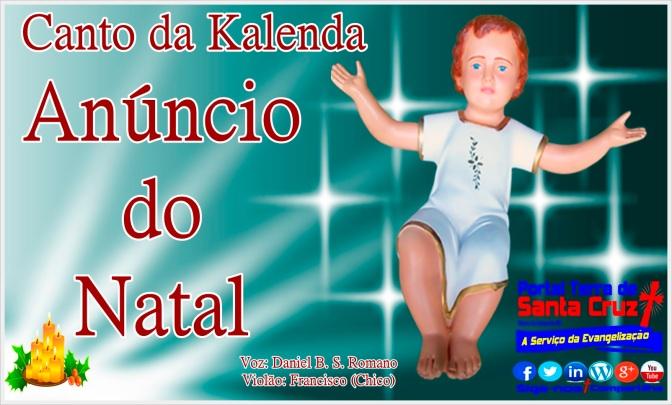 O Canto das Kalendas – O Anúncio do Natal – Forma Ordinária