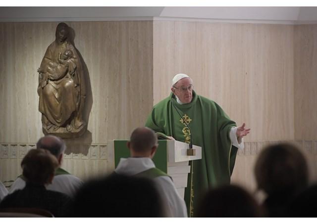 Papa Francisco: ser cristão é ser corajoso, não covarde