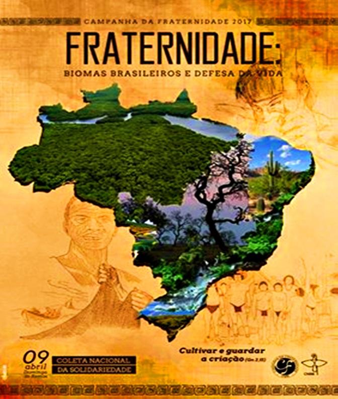 CNBB lança Campanha da Fraternidade 2017 na quarta-feira em Brasília