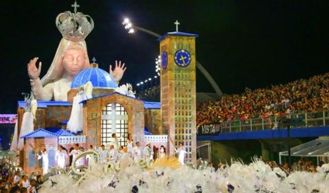 A Cultura abraça a fé: Unidos de Vila Maria brilha no Anhembi com enredo sobre os 300 anos da aparição da imagem de Nossa Senhora Aparecida – Emoção e Fé!