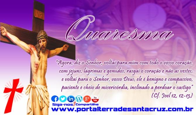 O tempo da quaresma segundo o Diretório da Liturgia