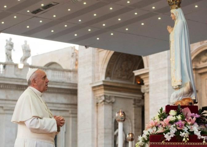 Fátima 2017: Vaticano divulga programa oficial da viagem do Papa