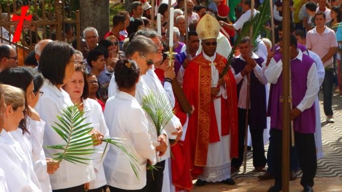 Domingo de Ramos e da Paixão do Senhor em Campanha/MG