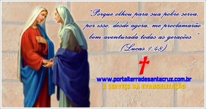 A visitação de Maria a sua prima nos convoca a essa caridade ativa
