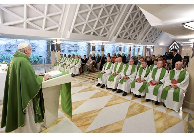 Homilia na Casa Santa Marta: um cristão jamais deve ser hipócrita – Papa Francisco