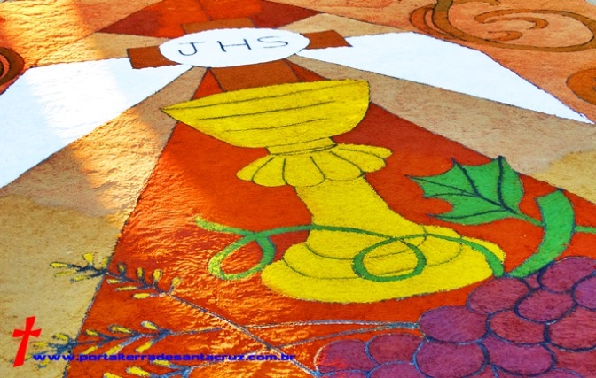 Entenda o significado do tapete de Corpus Christi