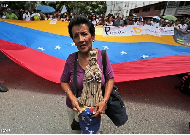 Apelo do Papa pela Venezuela: que cesse toda violência
