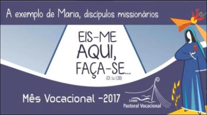 Mês Vocacional destaca exemplo da Virgem Maria e necessidade de vocações
