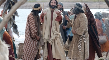 Resultado de imagem para imagem de São felipe e Santo andre falando com jesus