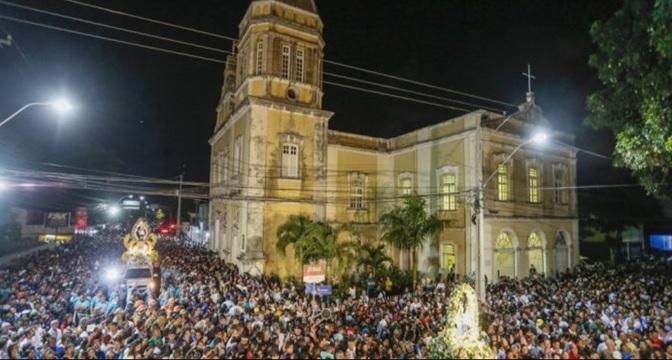 Meio milhão de católicos lotam as ruas de João Pessoa na 254ª Romaria da Penha