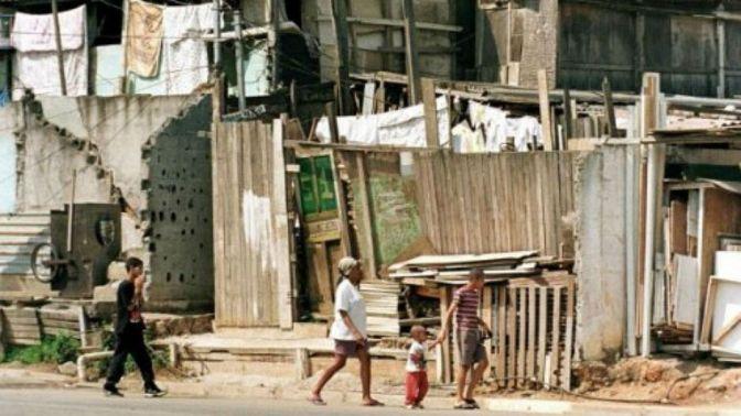 Um em cada quatro brasileiros vivem na pobreza, diz IBGE