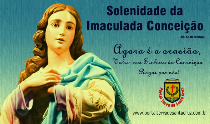 Comemoramos a Imaculada Conceição de Nossa Senhora, a Rainha de todos os santos