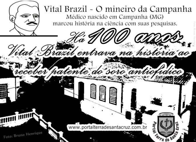 Há 100 anos, Vital Brazil marcava história na ciência ao receber patente do soro antiofídico