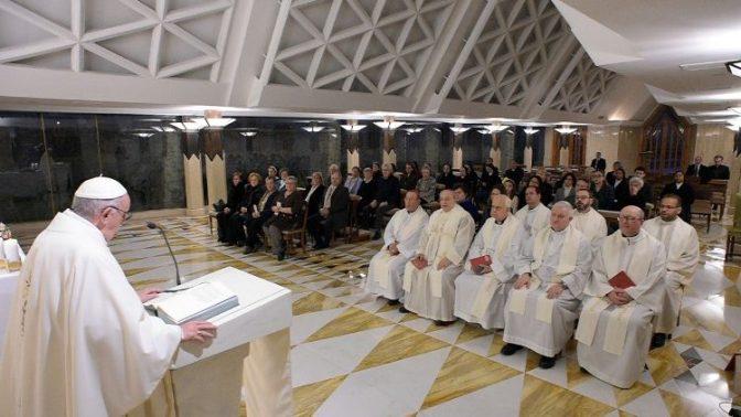 Papa: Não existe uma verdadeira humildade sem humilhação