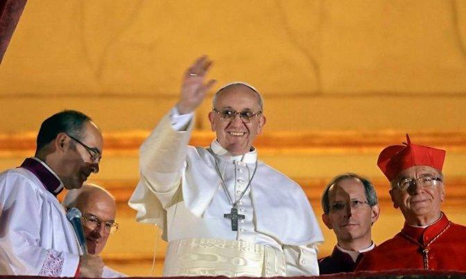Cinco anos da eleição de Jorge Mario Bergoglio – 266º Papa daIgreja Católica.