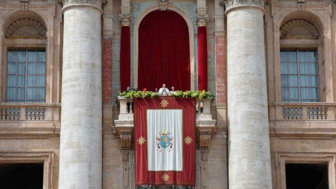 Os votos de paz do Papa ao mundo, na Bênção Urbi et Orbi