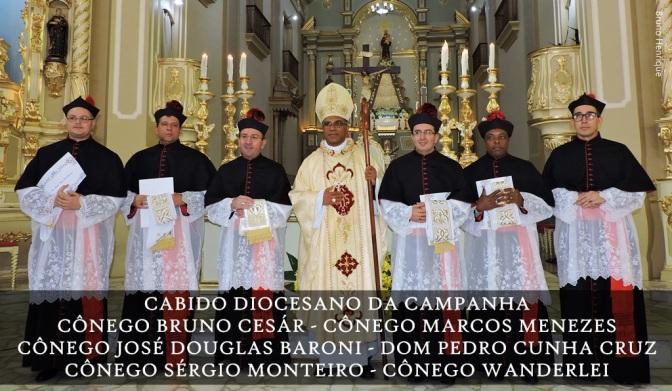 Diplomação dos novos Cônegos da Catedral da Campanha/MG