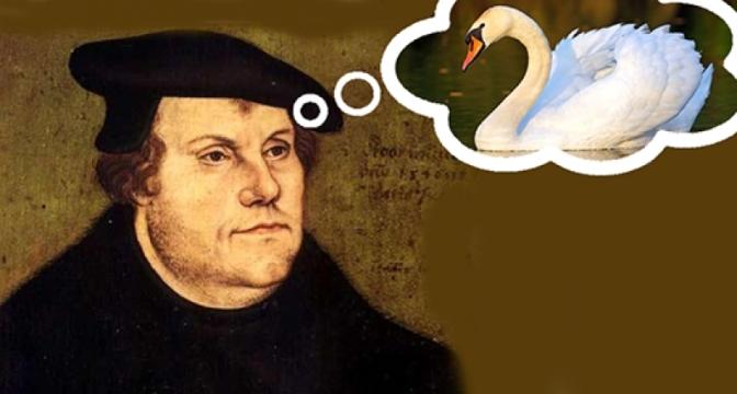 """Lutero, o urubu que se achava o """"cisne"""" da suposta profecia de Huss"""