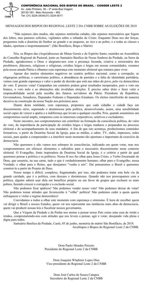 mensagem_dos_bispos_do_regional_leste_2_sobre_as_eleicoes
