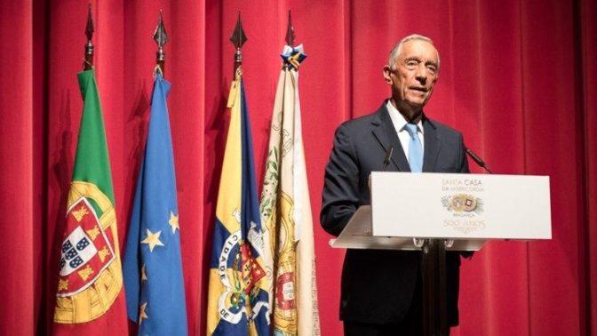 """Presidente Português destaca """"papel crucial das Misericórdias"""""""
