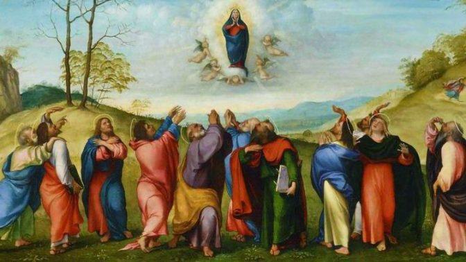 A Assunção de Maria nas artes